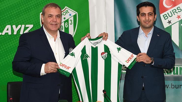 Bursaspor Kulübü, forma kol sponsoruyla sözleşme imzaladı