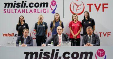 Son dakika... Misli.com'dan Türkiye Kadınlar Voleybolu'na büyük destek
