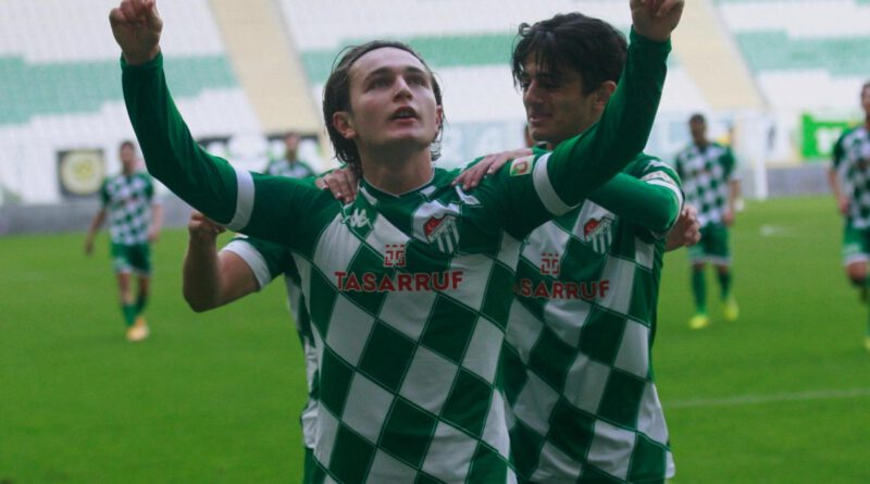 Bursaspor - Boluspor maç sonucu: 4-2
